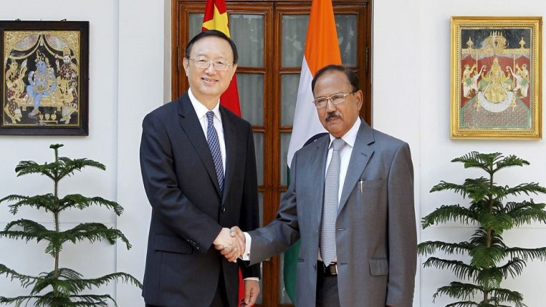 Ahead of Indo-China visit, NSA meets top diplomat
