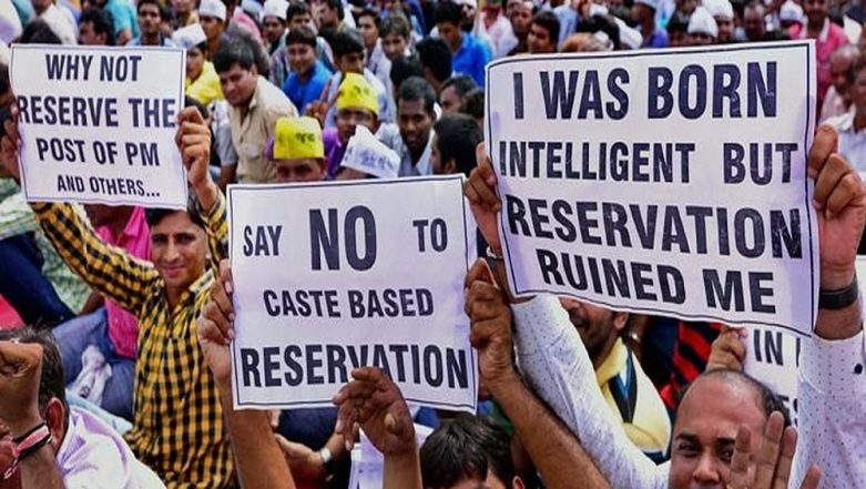 Reservation in India: A Look At The Mathematics of 50% Quota Across Categories as Govt Approves An Extra 10% For Economically Weaker Upper Castes