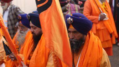 Baisakhi 2021: Over 800 Indian Sikhs Reach Pakistan's Lahore to Mark 'Vaisakhi' Festivities at 16th Century Gurdwara