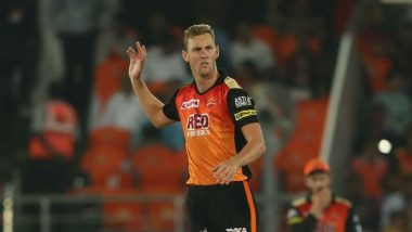 IPL 2018: SRH Pacer Billy Stanlake Ruled out of the Tournament With Finger Injury
