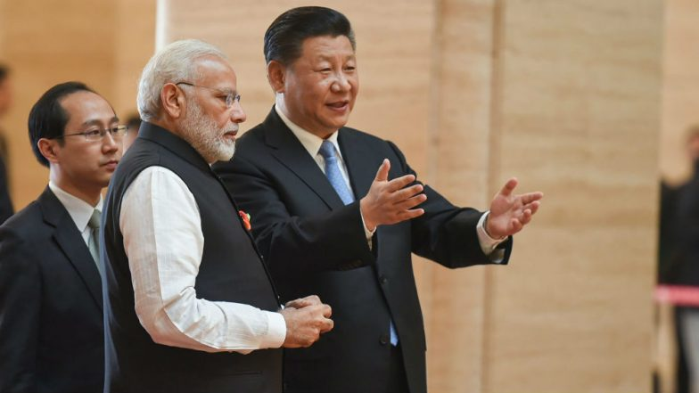 India, China Should Set Up New Bilateral Trade Target of USD 100 Bn by 2020: Xi Jinping to Narendra Modi