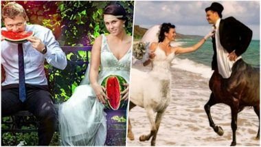 Wedding Albums of Russian Couples with Photoshopped Pictures Are Not Real but Funny