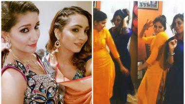 Bigg Boss 11 Contestants Sapna Chaudhary and Arshi Khan Groove to Rashke Qamar in this Viral Video