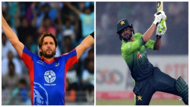 Shahid Afridi, Shoaib Malik Confirm Participation for ICC World XI Against West Indies