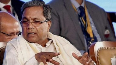 Siddaramaiah Resigns as Congress Legislative Party Leader After Party's Rout in Karnataka Bypolls 2019