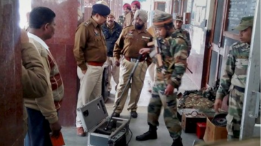 Pathankot on High Alert After Four Suspected Terrorists Hijack Car, Search Operation Underway