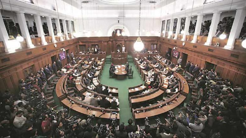 Delhi Assembly Witnesses Ruckus, BJP MLAs Marshalled Out