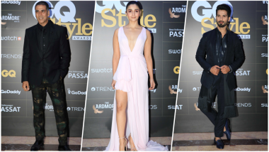 GQ Style Awards 2018 Red Carpet Pics: From Alia Bhatt to Akshay Kumar, Check out Best Dressed B-Town Celebrities
