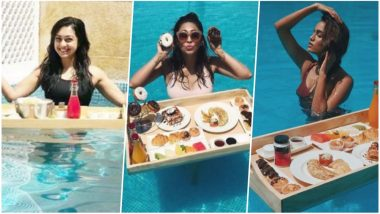Kishwer Merchant, Abigail Pande, Riddhi Dogra & Others Beat the Heat in Pushkar: Pics of TV Beauties Chilling in the Pool