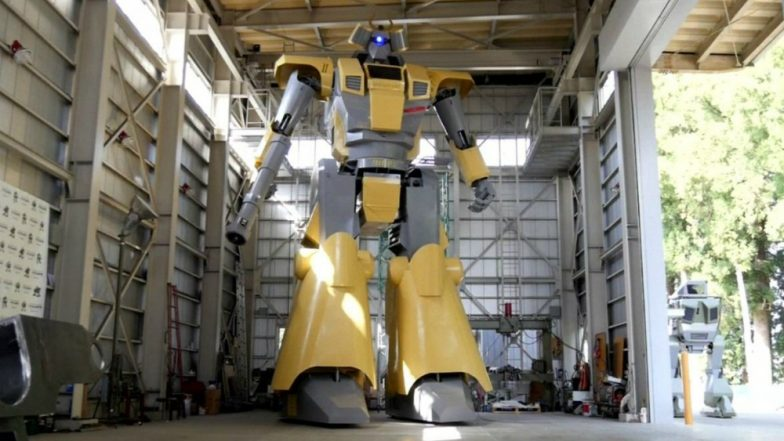 Japanese Engineer Builds Giant Robot Inspired By Science Fiction