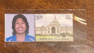 Jhulan Goswami Features on Postage Stamp Issued in her Honour for Picking 200 ODI Wickets
