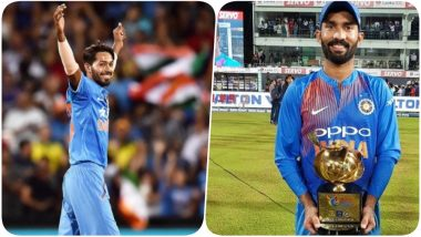 Hardik Pandya & Dinesh Karthik Featured in the ICC World Playing XI Against West Indies to be Played at Lord's
