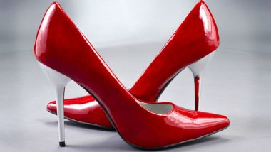 US College Male Students Wear High Heeled Shoes to Raise Awareness on Violence Against Women