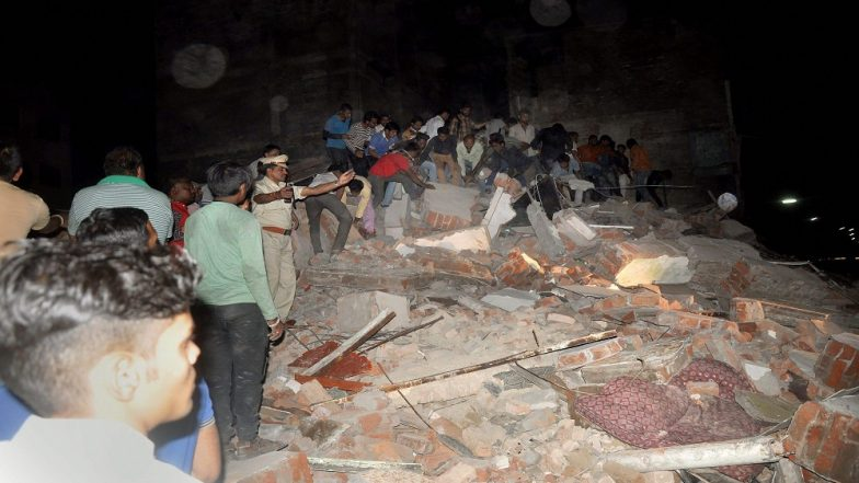 Indore building collapse latest developments: 10 people dead, several still trapped