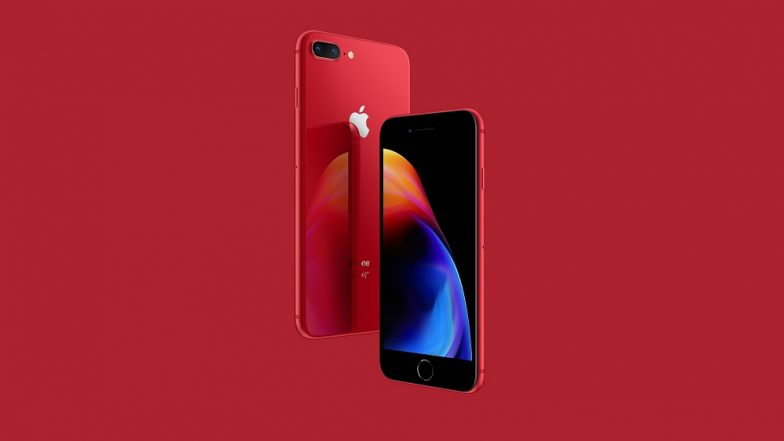 iPhone 8, iPhone 8 Plus (Product RED) Available for Pre-order in India on Flipkart at Rs 67,490; Will go on Sale on April 30
