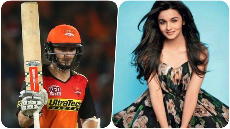 IPL 2018 Diaries: Sunrisers Hyderabad Captain Kane Williamson is a fan of Alia Bhatt