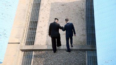Kim Jong-un Makes History As He Walks Onto South Korean Soil For 3rd Inter-Korean Summit