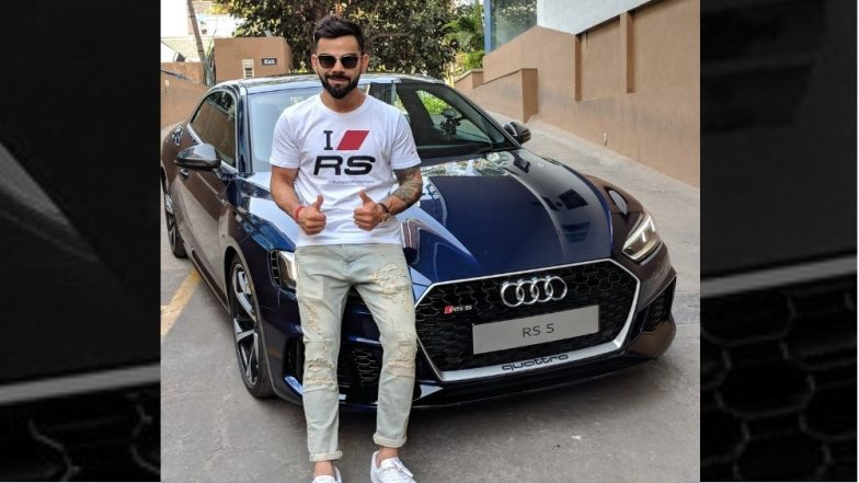 Virat Kohli Poses With Audi RS 5 Coupe, Luxury car Launched in India at Rs 1.1 Crore