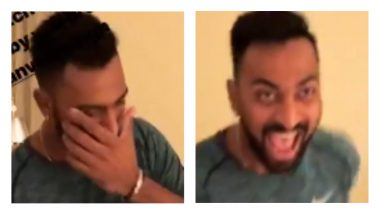 IPL Diaries 2018: Mumbai Indians' Krunal Pandya Unleashes the Khilji in him Ahead of Their First Match with CSK