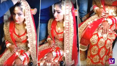 Video: This Punjabi Bride Wearing 'Lights Wala Lehenga' aka Bridal Outfit with Fairy Lights will Leave You SHOCKED!