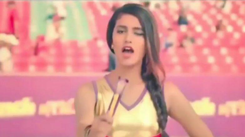 Priya Prakash Varrier Winks her way to Stardom yet Again in her First Ever Hindi Ad - Watch Video