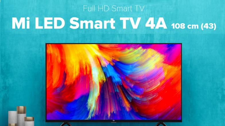Xiaomi Sale: Mi TV 4 & Mi TV 4A Online Sale at 12 PM Today on Flipkart & Mi.com