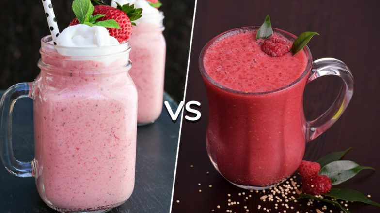 Smoothies and Milkshakes are Not The Same, Know the Difference Between the Beverages
