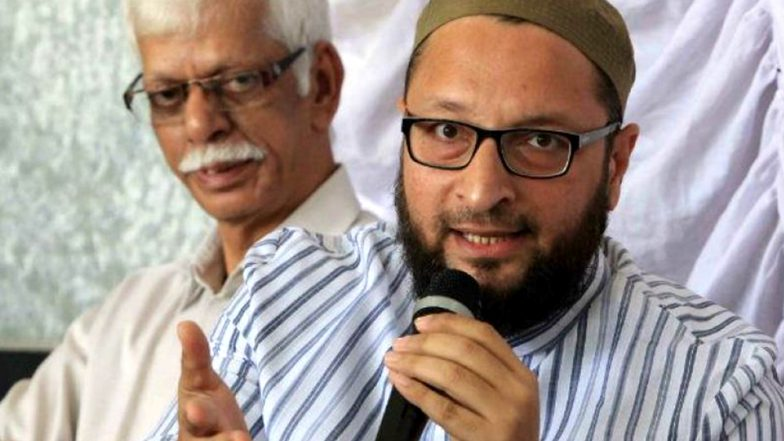 Asaduddin Owaisi Threatens to Convert to Islam Those Who Forefully Shaved Muslim Man's Beard in Gurugram