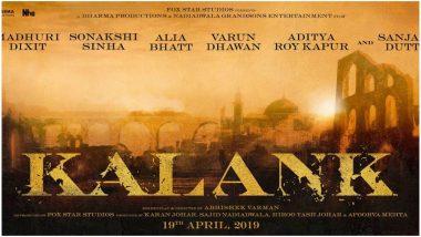 Kalank: You Won't Believe The Cost of the Set Recreated for Alia Bhatt, Varun Dhawan, Sonakshi Sinha-starrer