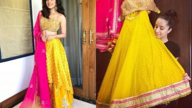 The Mystery Behind Shraddha Kapoor's Haldi Ceremony Outfit Is Solved!