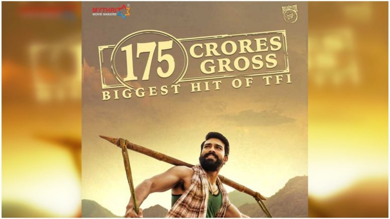 Ram Charan's Rangasthalam total collection is now behind only Baahubali series