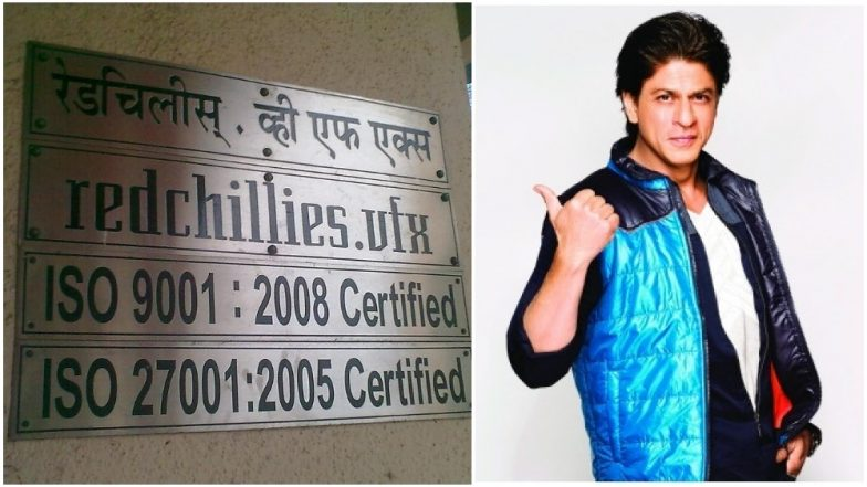Shah Rukh Khan proudly celebrates 12 years of Red chillies