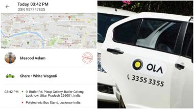 Abhishek Mishra Cancels Ola Ride With Muslim Driver, Twitter Loses Indianness! Shashi Tharoor Says He should be Ostracized