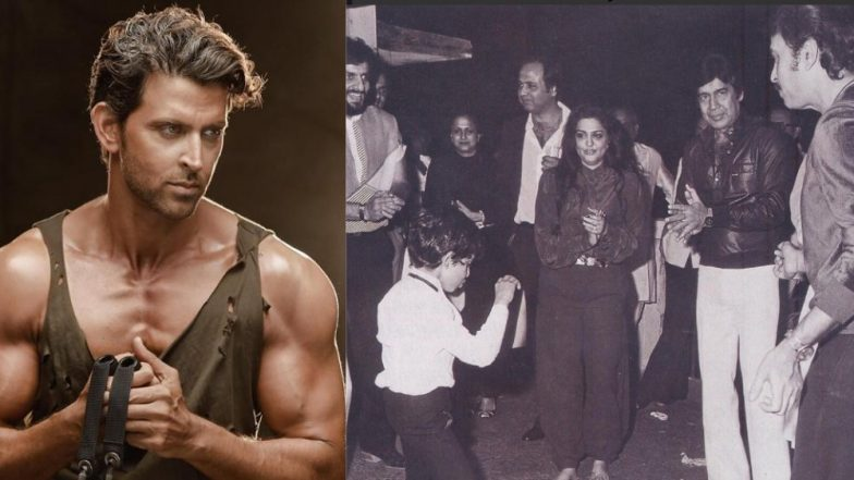 Hrithik Roshan shares old picture of him dancing in Michael Jackson's 'Thriller'