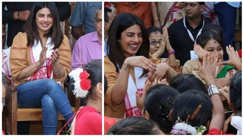 Priyanka Chopra is having a ball in #AwesomeAssam