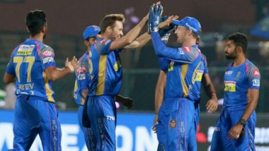DD vs RR Highlights Video, IPL 2018: Royals Emerge as Victorious in Their First Home Game