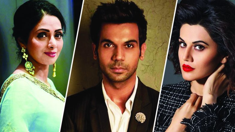 65th National Awards Winners List Sridevi Rajkummar Rao's Newton Vinod Khanna Taapsee Pannu's Ghazi Win Laurels