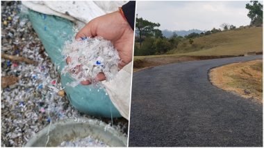 Nongkynjang Village in Meghalaya Is Using Plastic to Construct Roads, Check Pictures