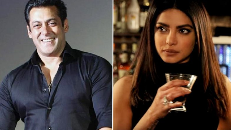 'Dabangg' Salman Khan welcomes Priyanka Chopra in 'Bharat'!