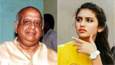 TN Seshan is NOT Dead, Priya Prakash is NOT Wearing CSK Jersey & Government Websites Were NOT Hacked! Save us From Fake News