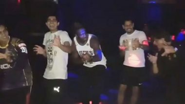 IPL Diaries 2018: Shah Rukh Khan Dances With Andre Russell and Other KKR Team Members