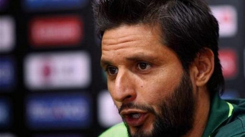 Shahid Afridi on Pulwama Attack: 'Without Any Proof India Is Putting All the Blame on Pakistan'