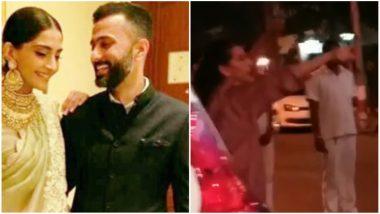Sonam Kapoor and Anand Ahuja Wedding prep Begins! Mom Sunita Kapoor Assists Decorations at Bandra Residence - Watch Video