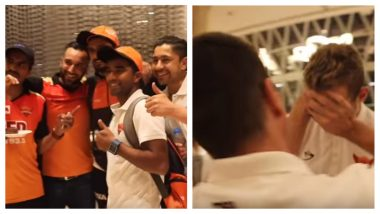 IPL Diaries 2018: That's How Sunrisers Hyderabad Celebrated Their Hat Trick Win Against the Kolkata Knight Riders