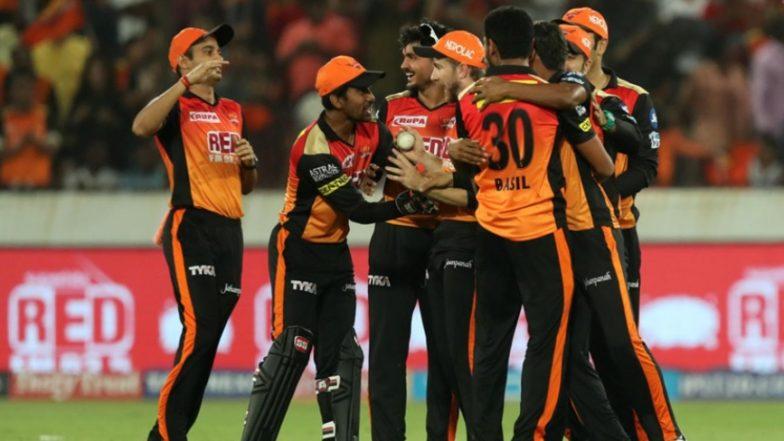 SRH Squad in IPL 2019: Team Profile, Schedule of Sunrisers Hyderabad in VIVO Indian Premier League 12