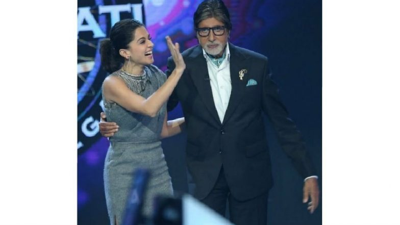 Amitabh Bachchan And Taapsee Pannu To Reunite For The Invisible