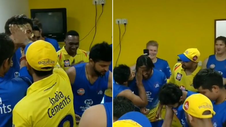 IPL 2018 Diaries: Watch Team CSK's Murali Vijay & Coach Stephen Fleming get Face & Hair Facial