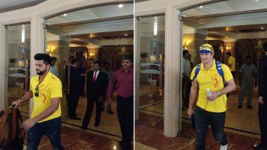 IPL 2018: Team Chennai Super Kings Reach Mumbai for Their First Game Against MI