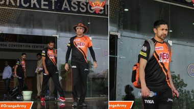 IPL 2018 Diaries: Sunrisers Hyderabad Their First Practice Session Turns UNEVENTFUL Due to Rains