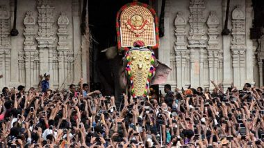 Thrissur Pooram 2018: Check Traffic Advisory, Train Schedule, Firework Rules & Other Details